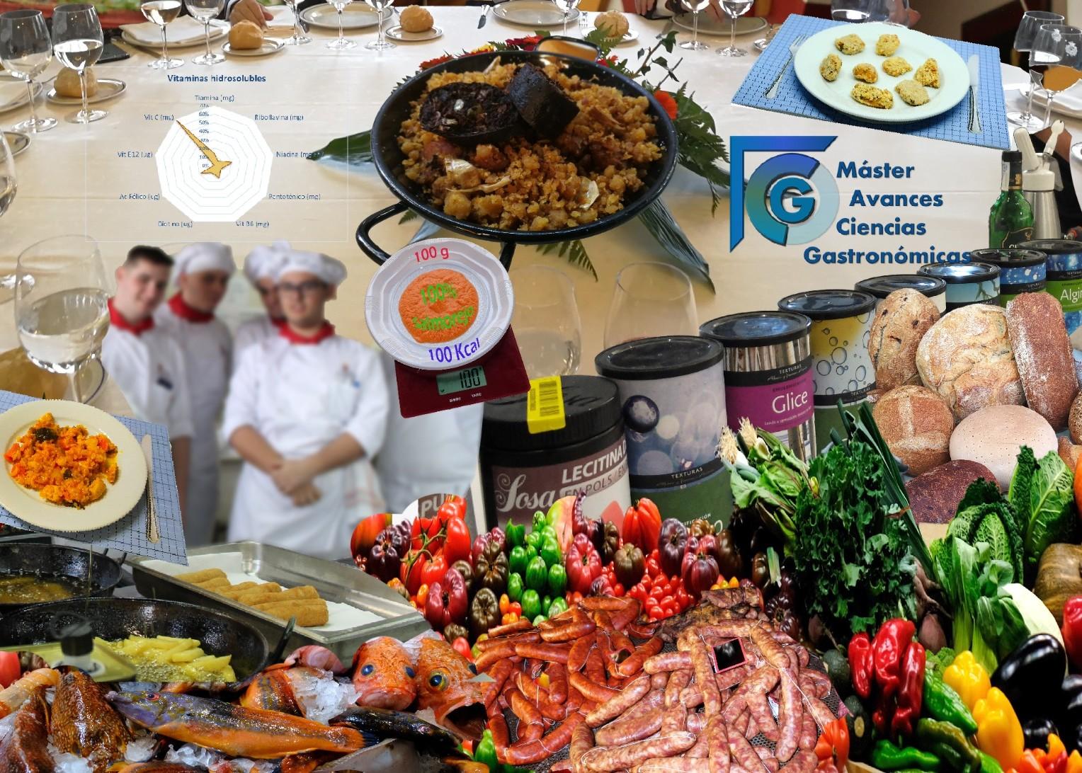 Máster Universitario en Avances en Ciencias Gastronómicas